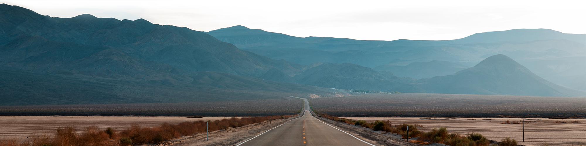 Background image of empty highway