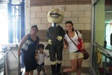Dakota Metro DC Area enjoyed the day at the Washington Nationals game