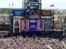 Colorado Rockies game